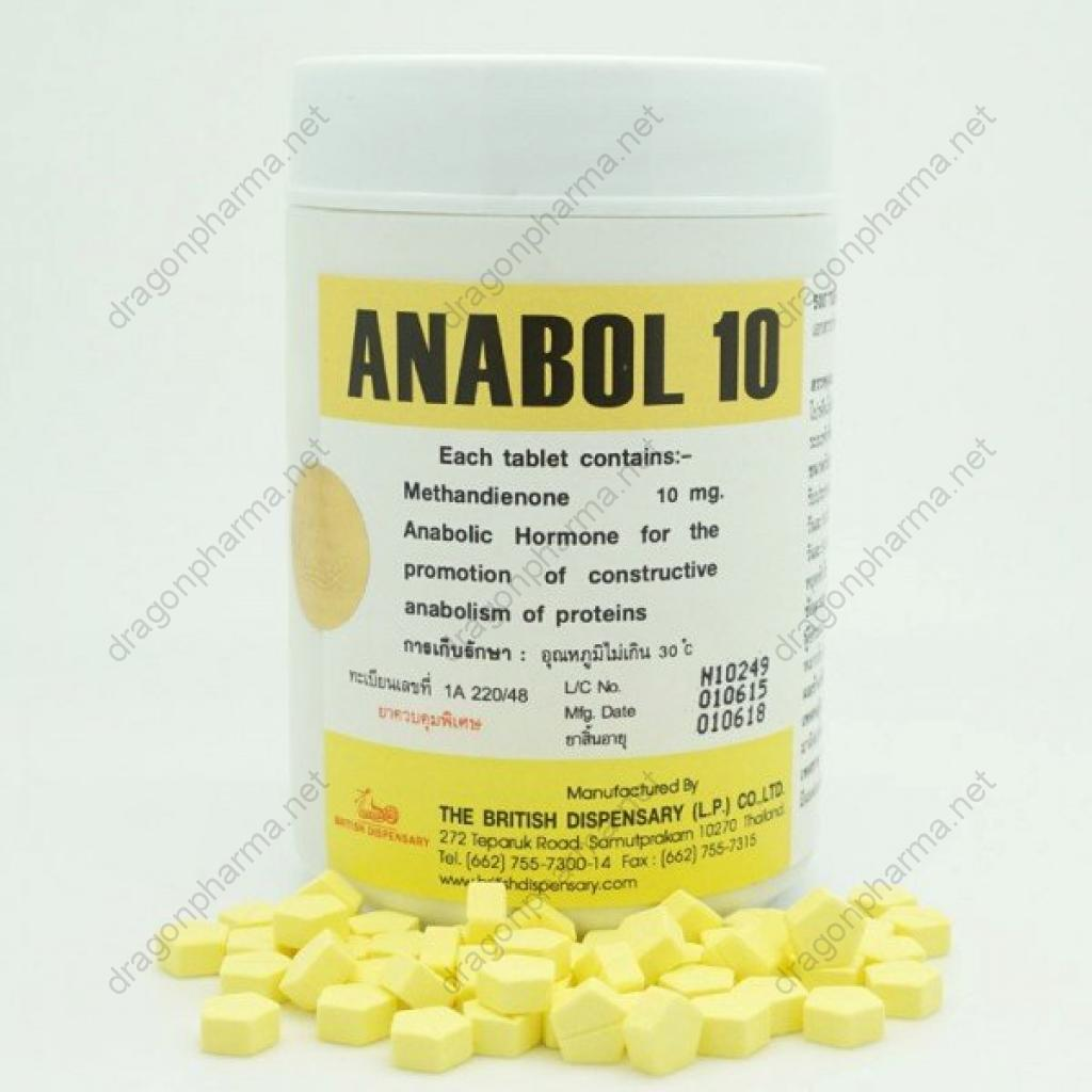 ANABOL 10 (British Dispensary) for Sale