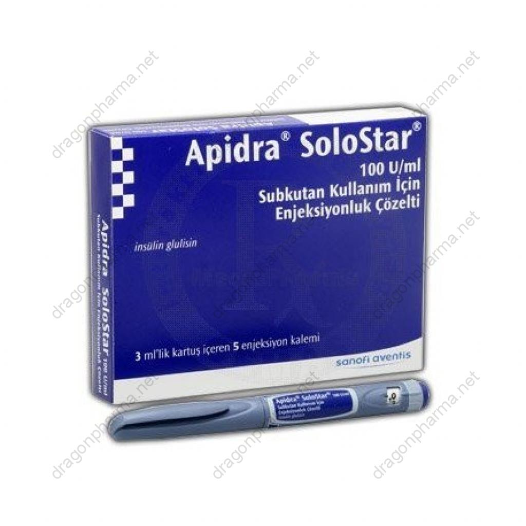 APIDRA SOLOSTAR (Peptides (hCG / rhGH / IGF-1)) for Sale