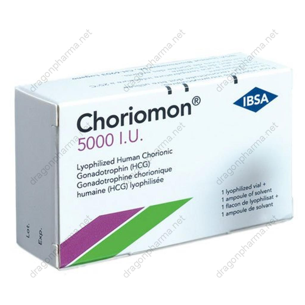 CHORIOMON 5000 IU (Peptides (hCG / rhGH / IGF-1)) for Sale