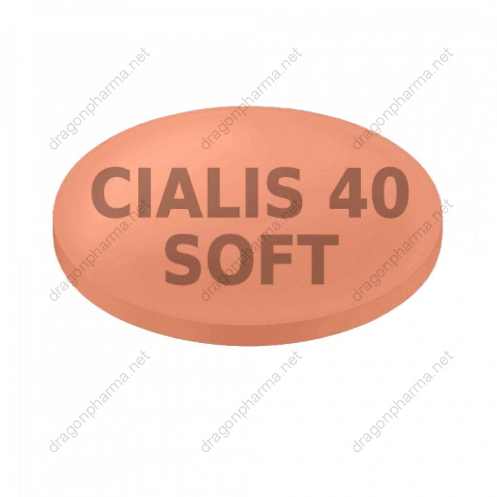 CIALIS SOFT TABS 40 MG (Generic) for Sale