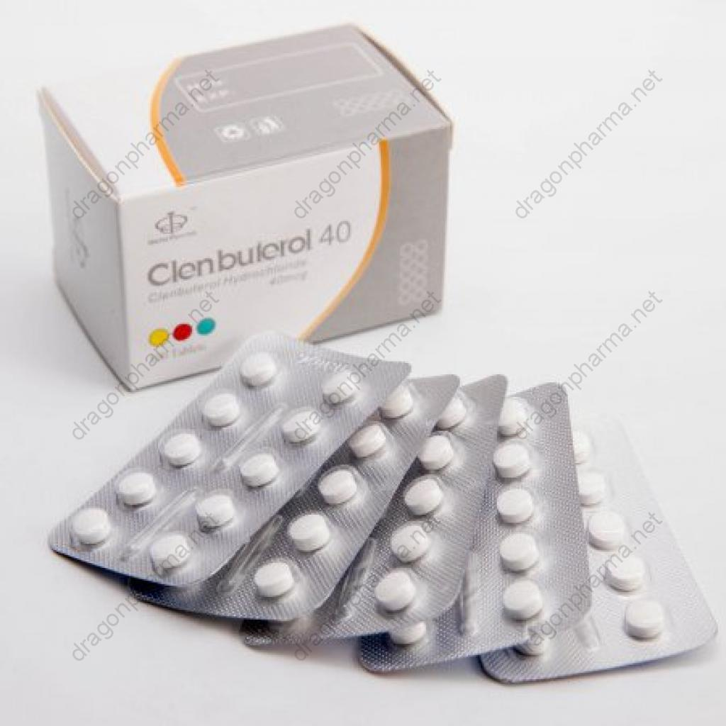 CLENBUTEROL 40 (Maha Pharma) for Sale