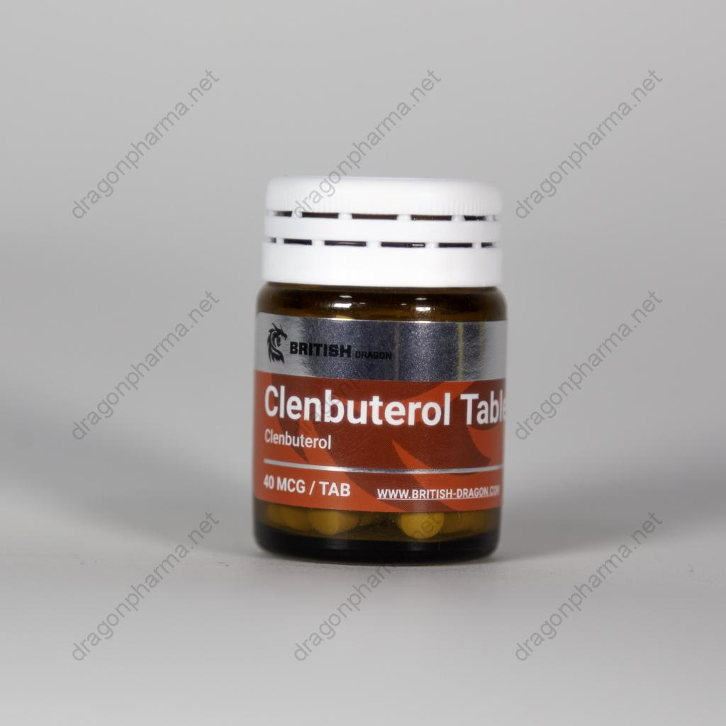 CLENBUTEROL TABLETS (British Dragon Pharma) for Sale