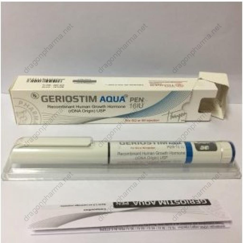 GERIOSTIM AQUA PEN 16 IU (Peptides (hCG / rhGH / IGF-1)) for Sale