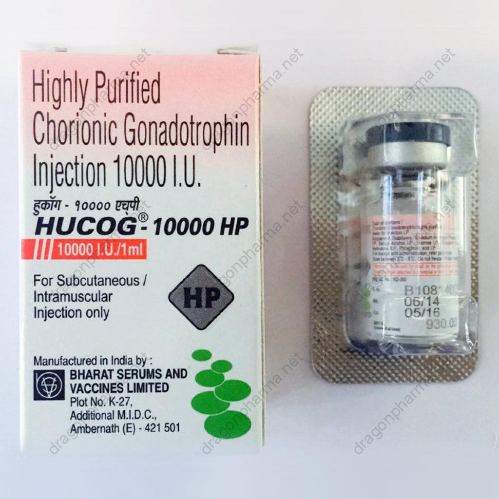 HUCOG 10000 IU (Peptides (hCG / rhGH / IGF-1)) for Sale