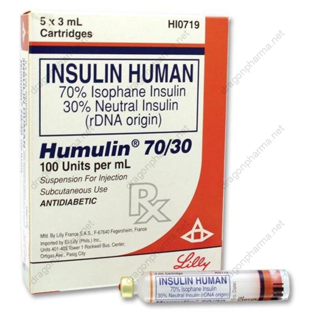 HUMULIN M (Peptides (hCG / rhGH / IGF-1)) for Sale