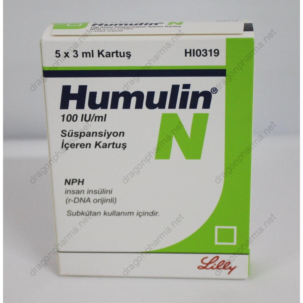 HUMULIN N (Peptides (hCG / rhGH / IGF-1)) for Sale