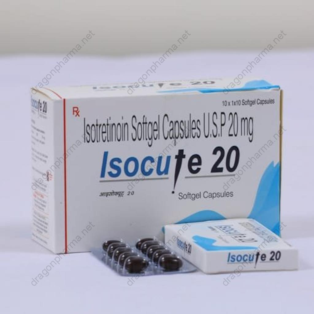 ISOCUTE 20 (Retinoids) for Sale