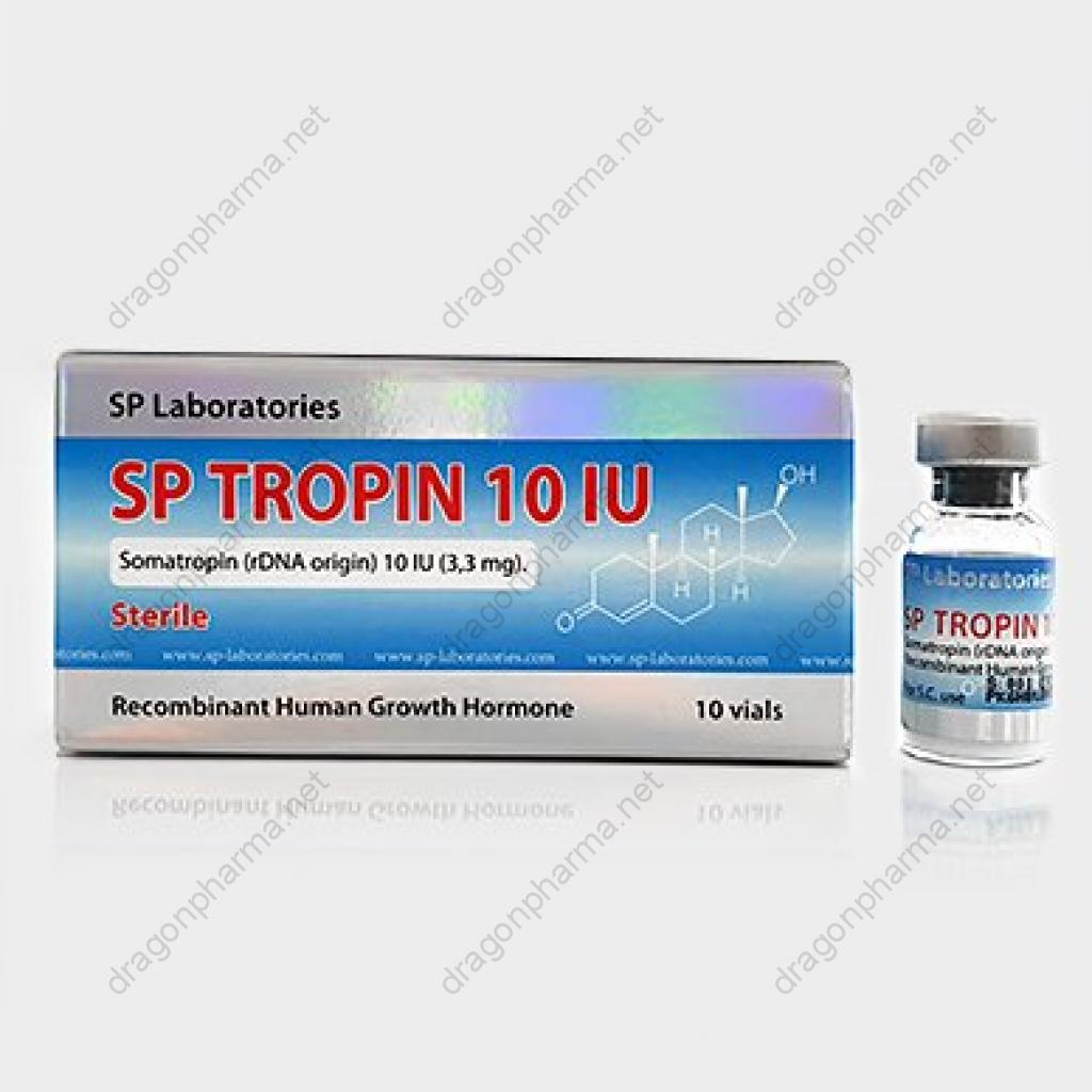 SP TROPIN 10 IU (Peptides (hCG / rhGH / IGF-1)) for Sale