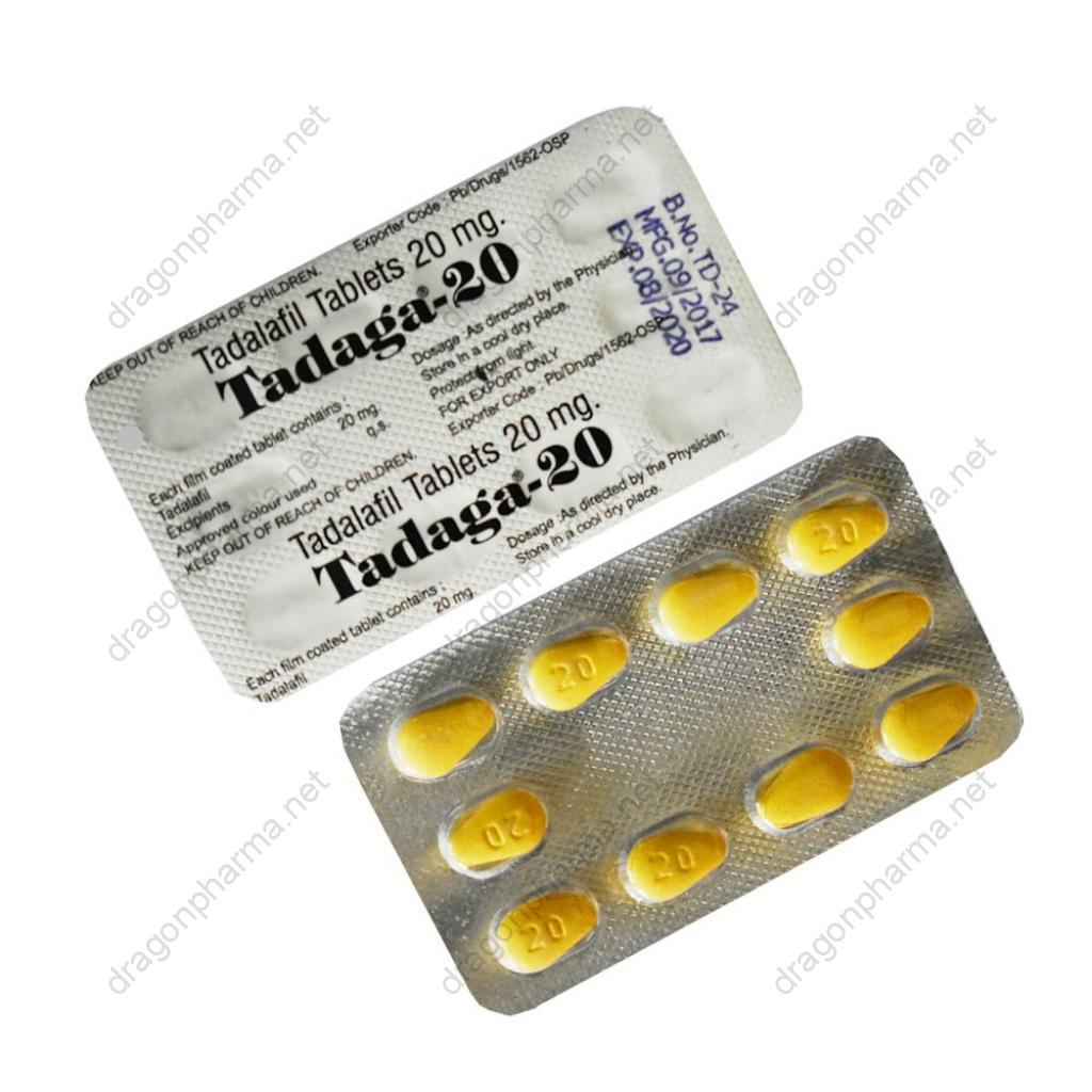 TADAGA-20 (Sexual Health) for Sale