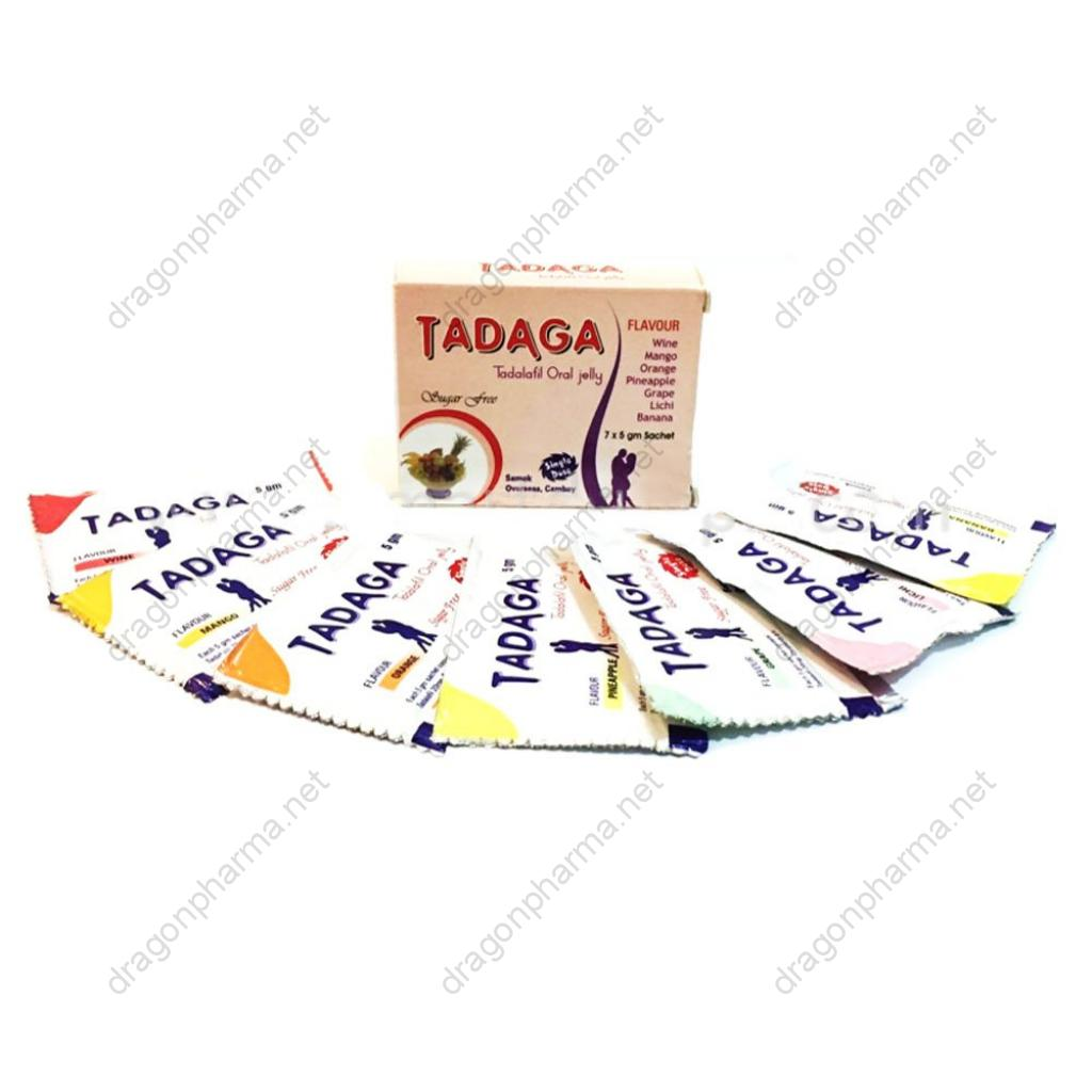 TADAGA ORAL JELLY (Sexual Health) for Sale