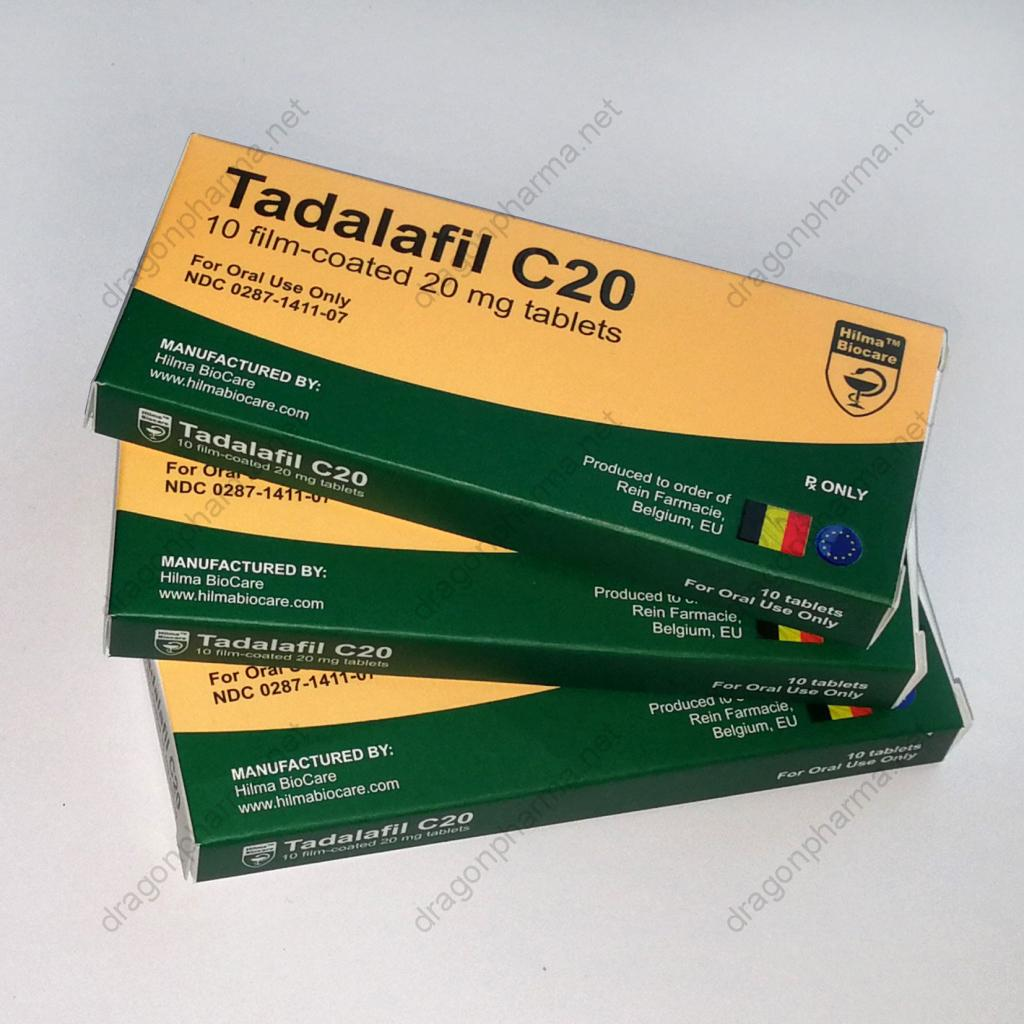 TADALAFIL C20 (Hilma Biocare) for Sale