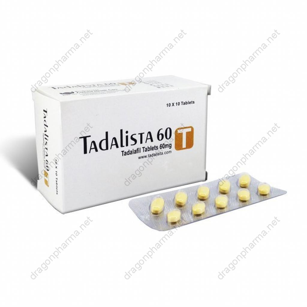 TADALISTA 60 (Sexual Health) for Sale