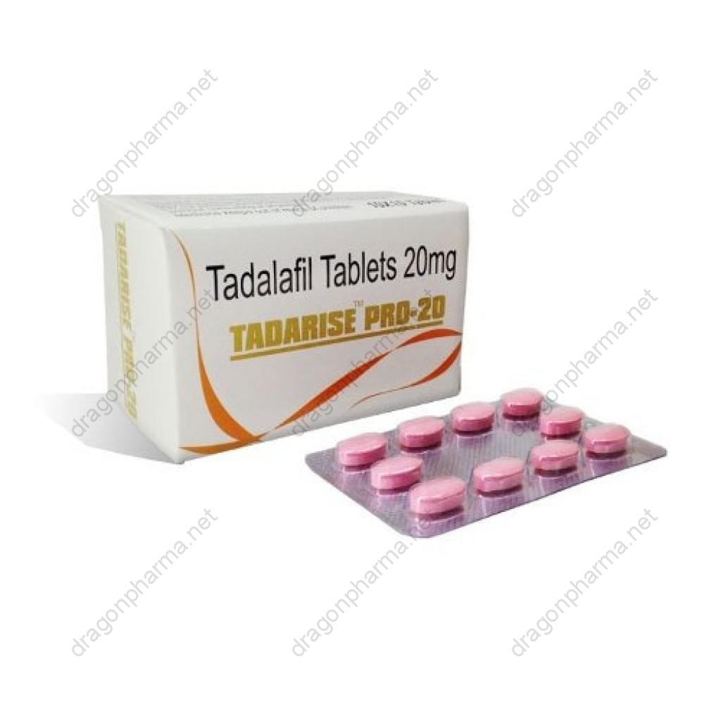 TADARISE PRO-20 (Sexual Health) for Sale