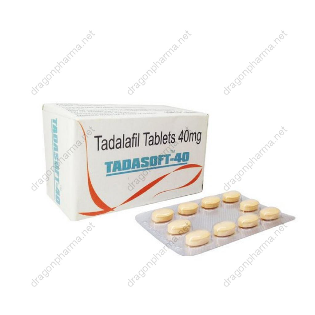 TADASOFT 40 MG (Sexual Health) for Sale