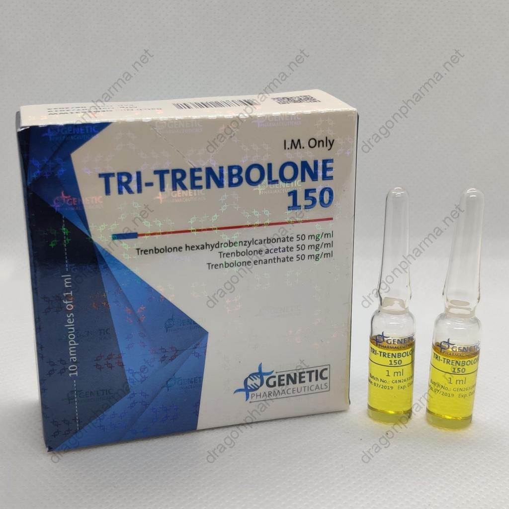 TRI-TRENBOLONE 150 (Genetic Pharmaceuticals) for Sale