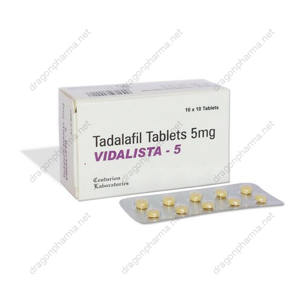 VIDALISTA - 5 (Sexual Health) for Sale